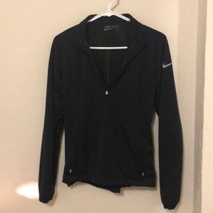 Nike Tops - Black Dry Fit Nike Golf Quarter Zip
